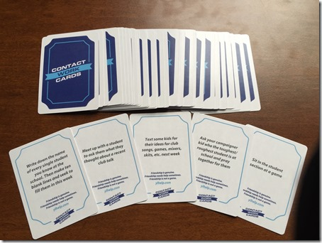 Contact Work Cards